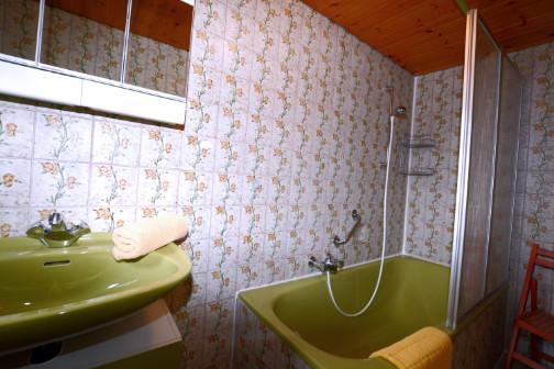 Duschmöglichkeit in der Ferienwohnung
